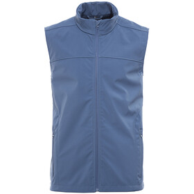 axant Alps softshell bodywarmer Heren blauw